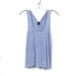 J-Crew | Striped Linen Tank Top